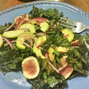 kale salad roasted