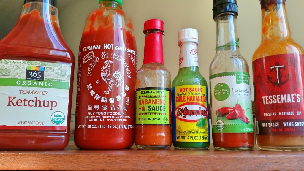 spiked ketchup hot sauce dipping