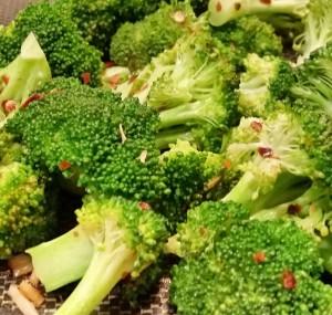 spicy garlic broccoli