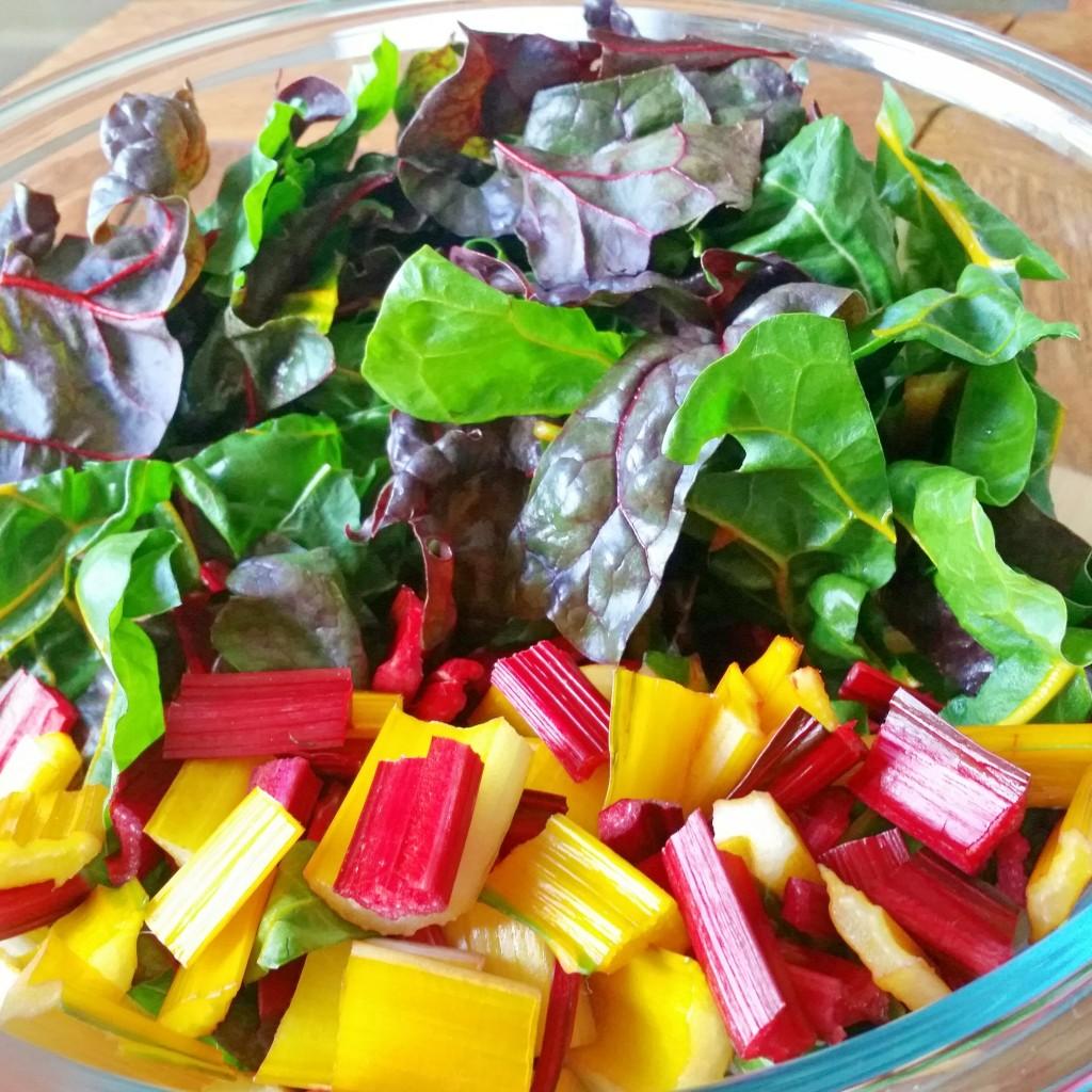rainbow chard meal prep